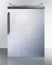 Brand: SUMMIT, Model: SBC635MNKSSHH, Color: Diamond Plate with Towel Bar Handle