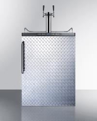 Brand: SUMMIT, Model: SBC635MSSTBTWIN, Color: Diamond Plate with Towel Bar Handle