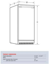 Brand: Electrolux, Model: UR15IM20RS