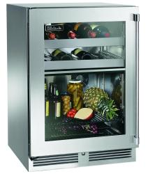 Brand: PERLICK, Model: HP24CS34R, Style: Stainless Steel-Glass, Left Hinge Door Swi