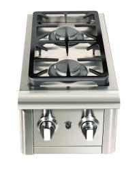 Brand: Capital, Model: CG1238SB, Style: 12 Inch Built-In Double Side Burner