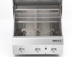 Brand: Capital, Model: PRO3, Style: 24 Inch Built-in Gas Grill