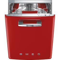 Brand: SMEG, Model: STFABUBL, Color: Red