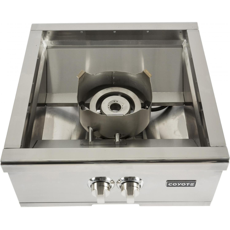 C1pblp coyote c1pblp side burners liquid propane for Viking wok burner