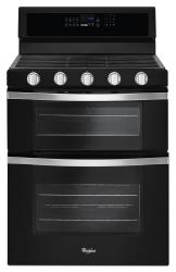 Brand: Whirlpool, Model: WGG745S0F, Color: Black Ice