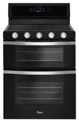 Brand: Whirlpool, Model: WGG745S0FS, Color: Black Ice