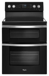 Brand: Whirlpool, Model: WGE745C0FE, Color: Black Ice