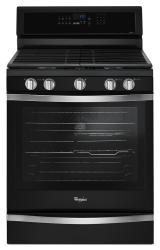 Brand: Whirlpool, Model: WFG745H0FS, Color: Black Ice