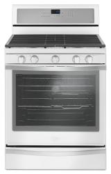 Brand: Whirlpool, Model: WFG745H0FE, Color: White Ice