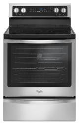 Brand: Whirlpool, Model: WFE745H0FH, Color: Black-on-Stainless