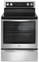 Brand: Whirlpool, Model: WFE745H0FS, Color: Black-on-Stainless