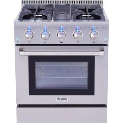 Brand: Thor, Model: HRG3080U, Color: Stainless Steel