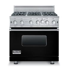 Brand: Viking, Model: VGIC53616BGG, Color: Black, Natural Gas