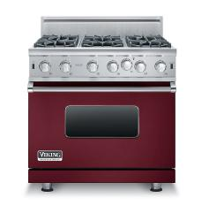 Brand: Viking, Model: VGIC53616BBK, Color: Burgundy