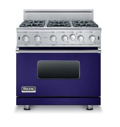 Brand: Viking, Model: VGIC53616BGG, Color: Cobalt Blue, Natural Gas