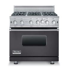 Brand: Viking, Model: VGIC53616BSS, Color: Graphite Gray, Natural Gas