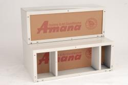 Brand: Amana, Model: WS924D1, Style: 24 Inch Depth Insulated Steel Wall Sleeve