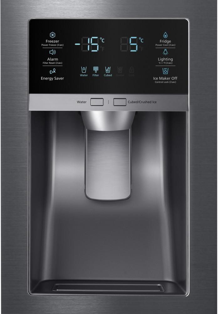 Rf28hfedb Samsung Rf28hfedb French Door Refrigerators