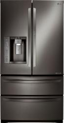 Brand: LG, Model: LMXS27676D, Color: Black Stainless Steel