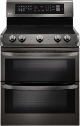 Brand: LG, Model: LDE4413, Color: Black Stainless Steel