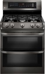Brand: LG, Model: LDG4315ST, Color: Black Stainless Steel