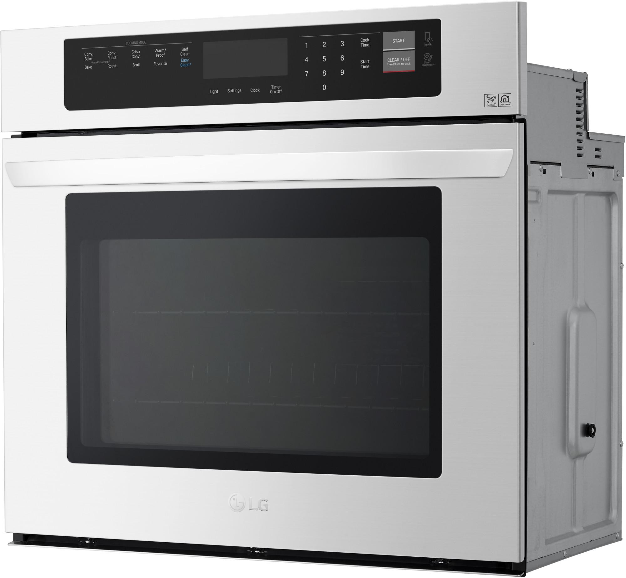 Lg 4 7 Cu Ft Single Built In Wall Oven