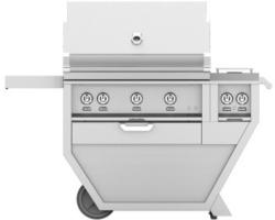 Brand: Hestan, Model: GMBR36CX2PP, Color: Stainless Steel