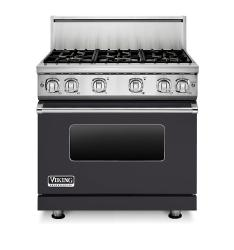Brand: Viking, Model: VGR73616BARLP, Color: Graphite Gray Liquid Propane