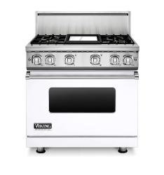 Brand: Viking, Model: VGR73614GBU, Color: White Liquid Propane