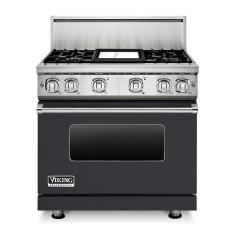 Brand: Viking, Model: VGR73614GBU, Color: Graphite Gray Liquid Propane