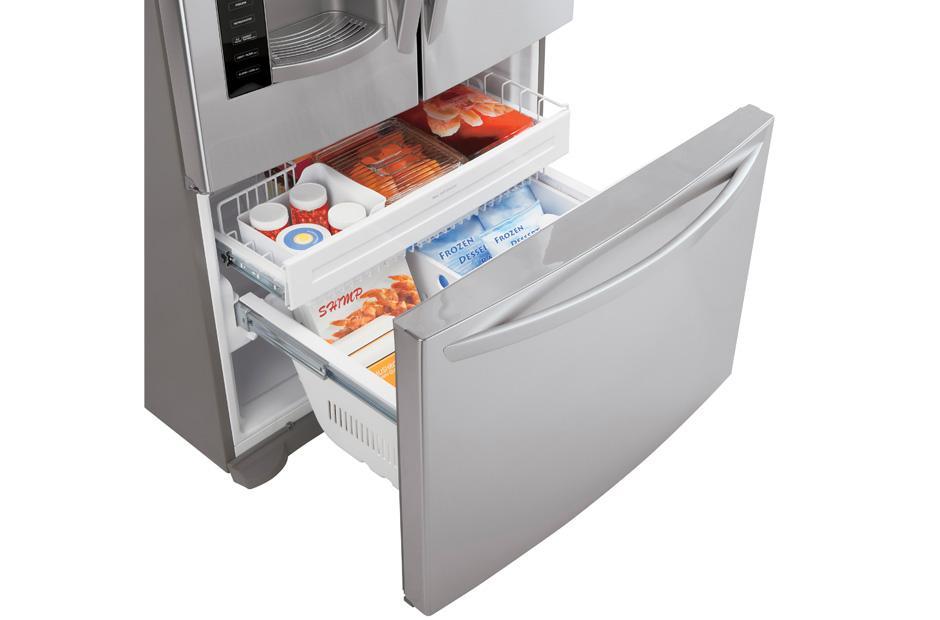 Lfx21976st Lg Lfx21976st Bottom Freezer Refrigerators