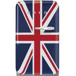 Brand: SMEG, Model: FAB5URUJ, Style: Union Jack, Left Hinge Door Swing