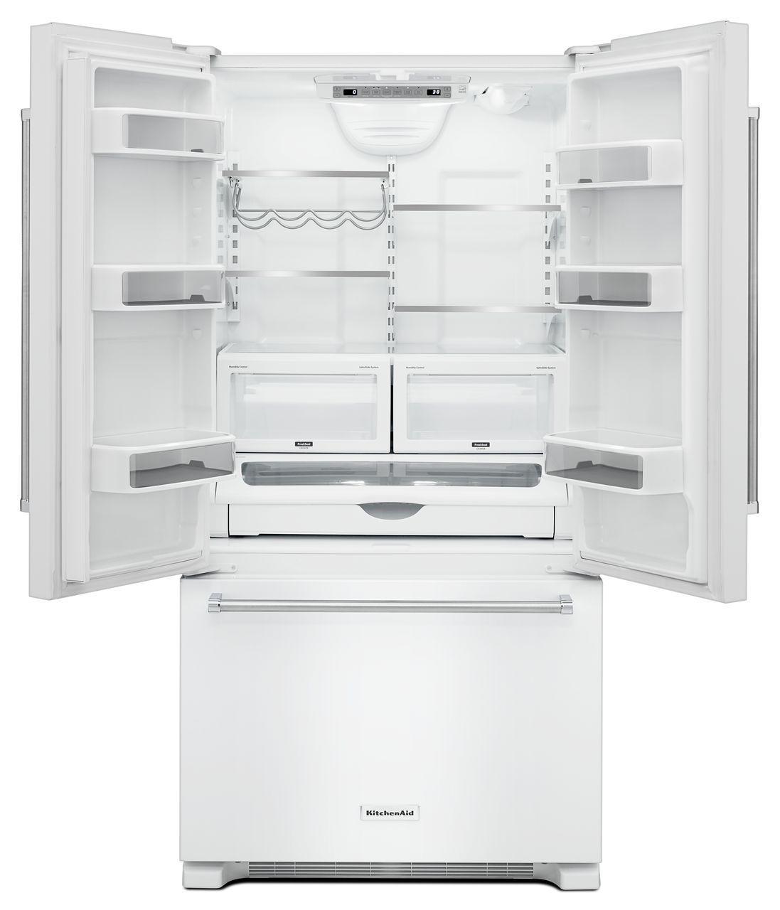 Kitchenaid Black Counter Depth Refrigerator: Bottom Freezer Refrigerators