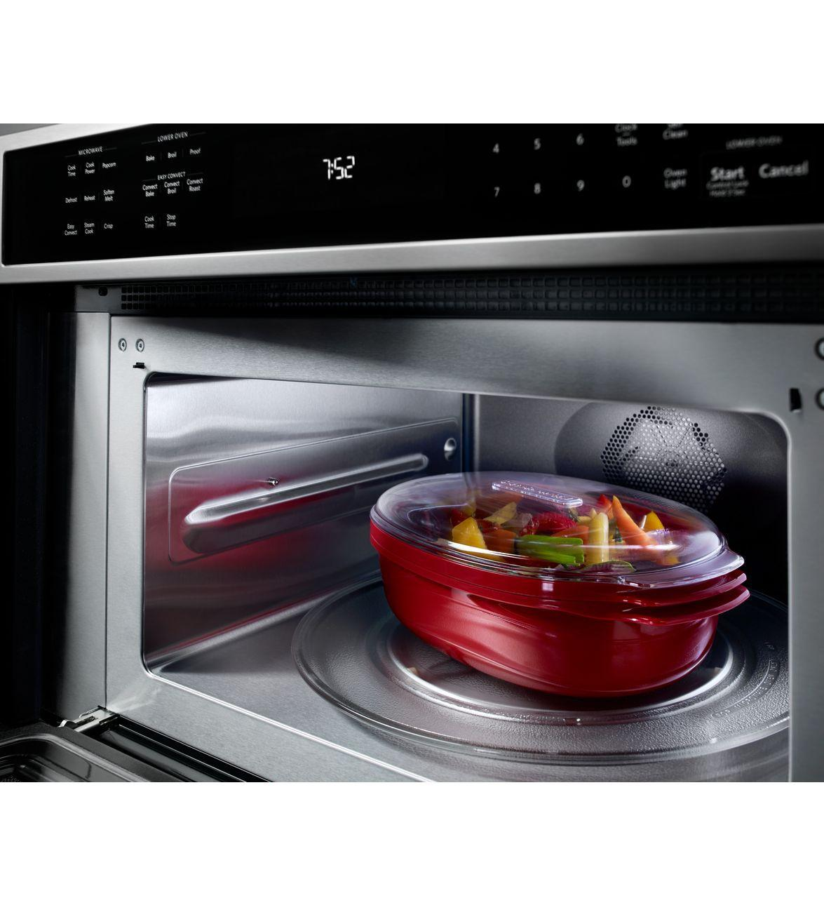 Kitchenaid Koce500ebs 30 Quot Built In Microwave Combination