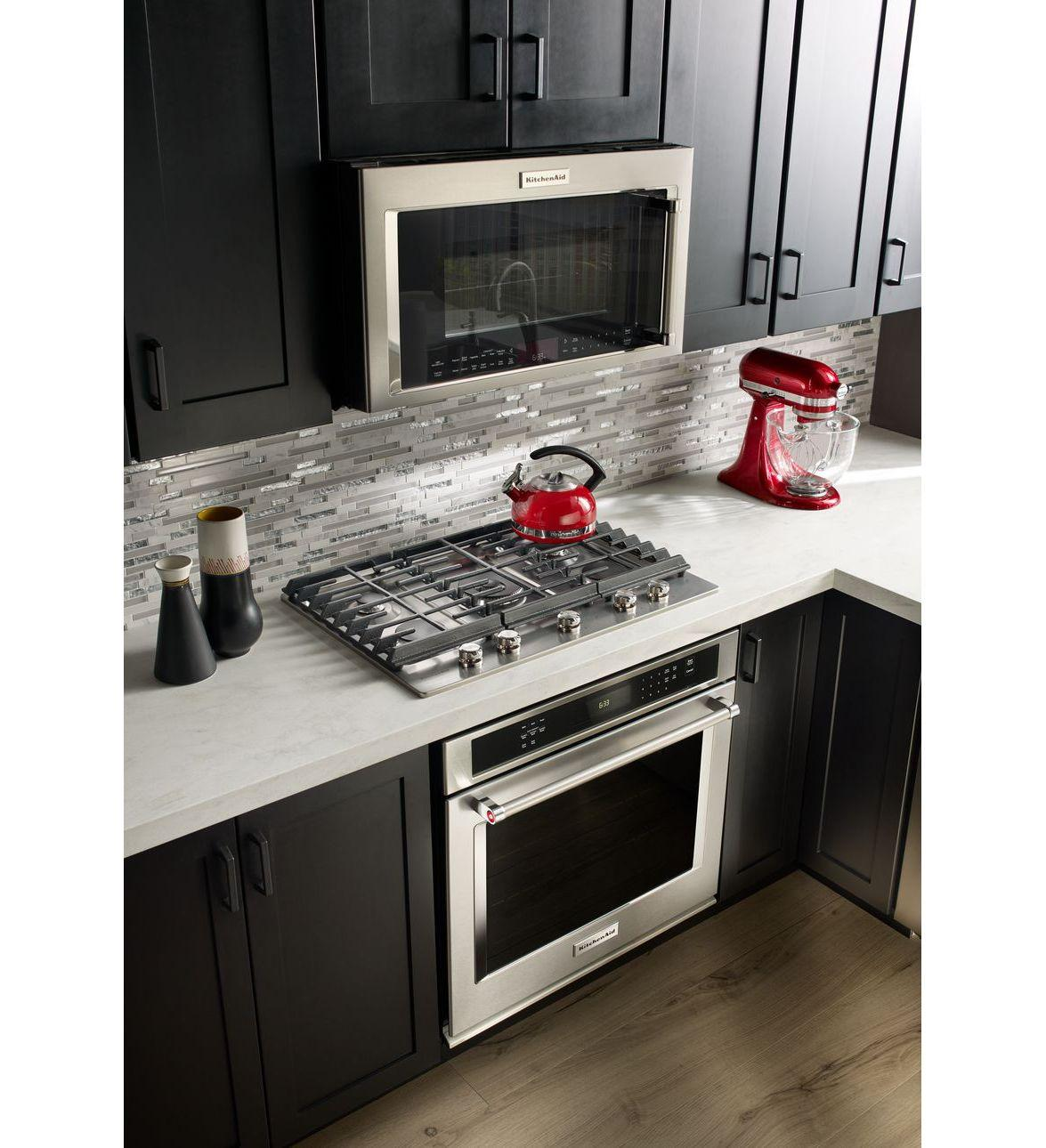 Kitchenaid 30 Inch Single Electric Wall Oven With 5 0 Cu