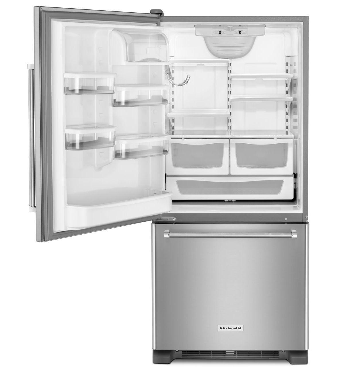 Krbl109e Kitchenaid Krbl109e Bottom Freezer Refrigerators