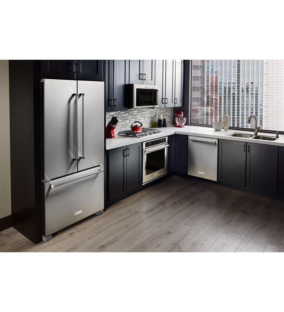Krfc300e Kitchenaid Krfc300e Bottom Freezer Refrigerators