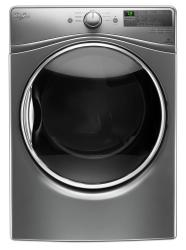 Brand: Whirlpool, Model: WED85HEFW, Color: Chrome Shadow