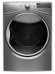 Brand: Whirlpool, Model: WED85HEFC, Color: Chrome Shadow