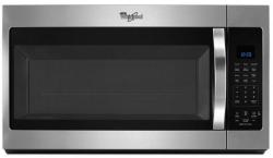 Brand: Whirlpool, Model: WMH32519FT, Color: Black on Stainless