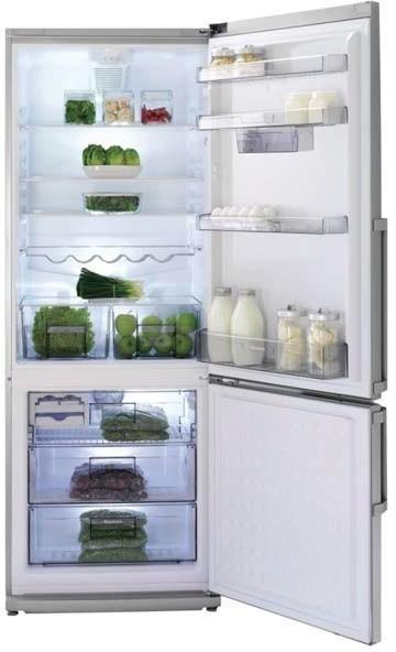 Blomberg 28 Inch Bottom Mount Counter Depth Refrigerator