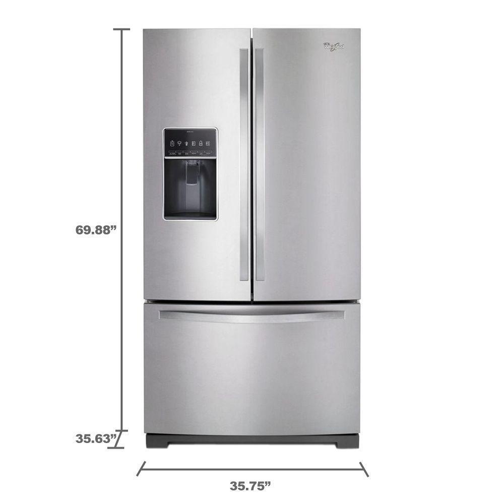 Wrf757sdeh Whirlpool Wrf757sdeh Refrigerator