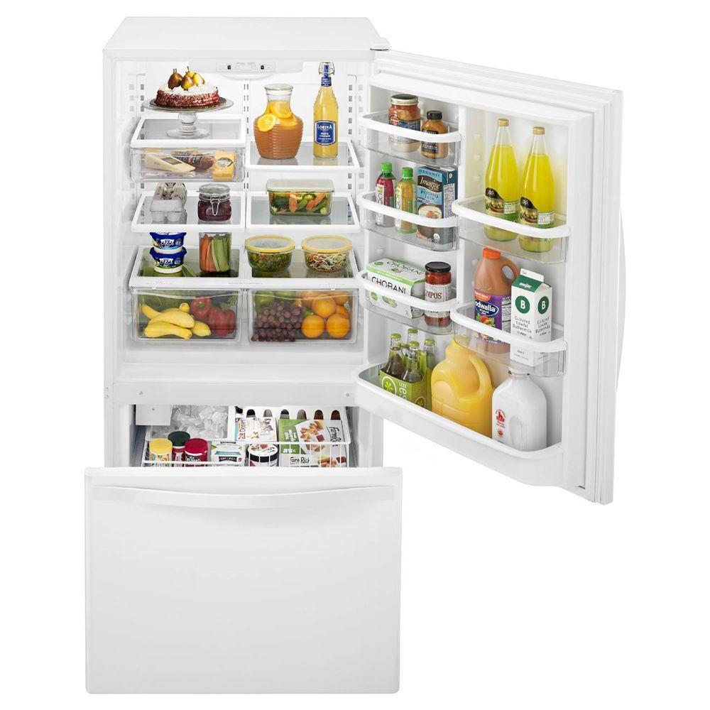Wrb322dmb Whirlpool Wrb322dmb Bottom Freezer Refrigerators