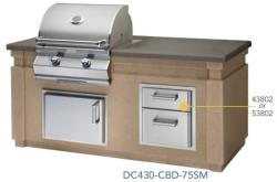 Brand: Fire Magic, Model: DC430CBD75SM, Style: 76 1/4 Inch Pre Fab Island