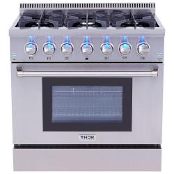 Brand: Thor, Model: HRD3606U, Color: Stainless Steel