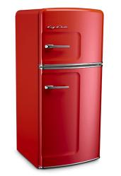 Brand: Big Chill, Model: 14TFx, Color: Cherry Red
