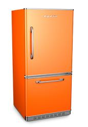 Brand: Big Chill, Model: 19BFx, Color: Orange