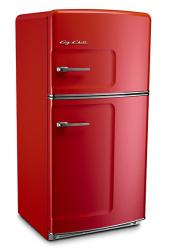 Brand: Big Chill, Model: 21TFx, Color: Cherry Red