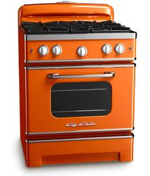 Brand: Big Chill, Model: BCS30CR, Color: Orange