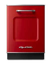 Brand: Big Chill, Model: DW24TQ, Color: Cherry Red
